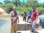 Legislator Bernadinus Taek Minta Pemerintah Perbaiki Irigasi Desa Leon Tolu