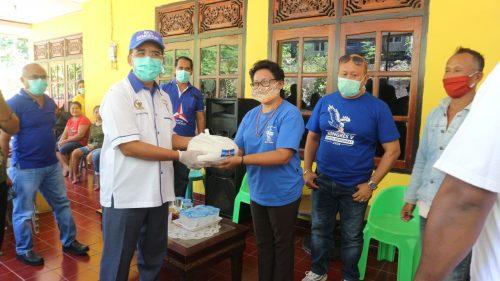 Aksi Sosial Partai Demokrat Kota Kupang di tengah Pandemi Covid-19