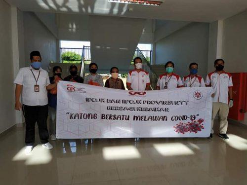 Aksi Kemanusiaan Keluarga Besar OJK NTT untuk Mahasiswa IAKN Kupang Terdampak Covid-19
