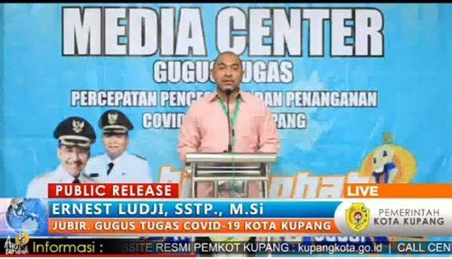 Tujuh Pasien Positif Corona di Kota Kupang dalam keadaan Stabil,  Belum Ada Indikasi Penularan