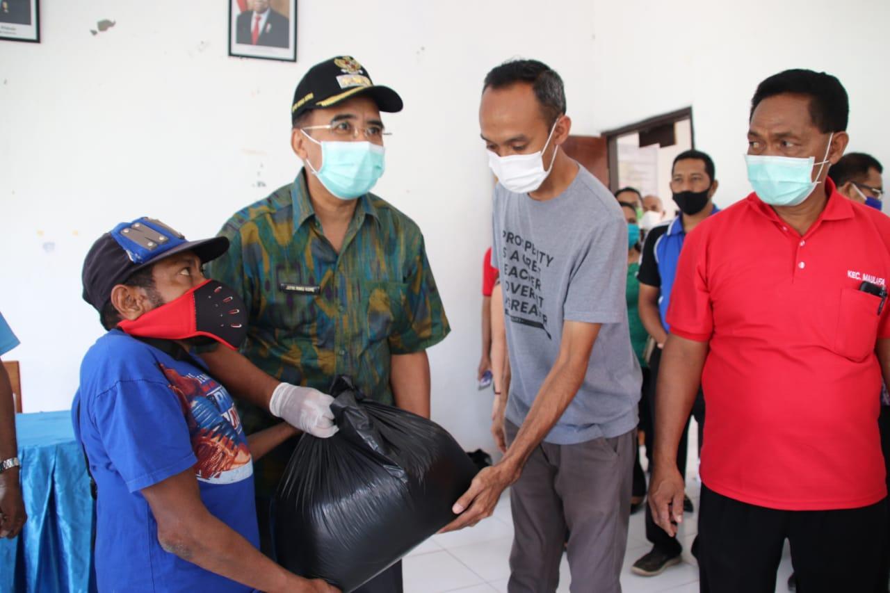Aksi Peduli Wali Kota Kupang untuk Warga Terdampak Covid-19