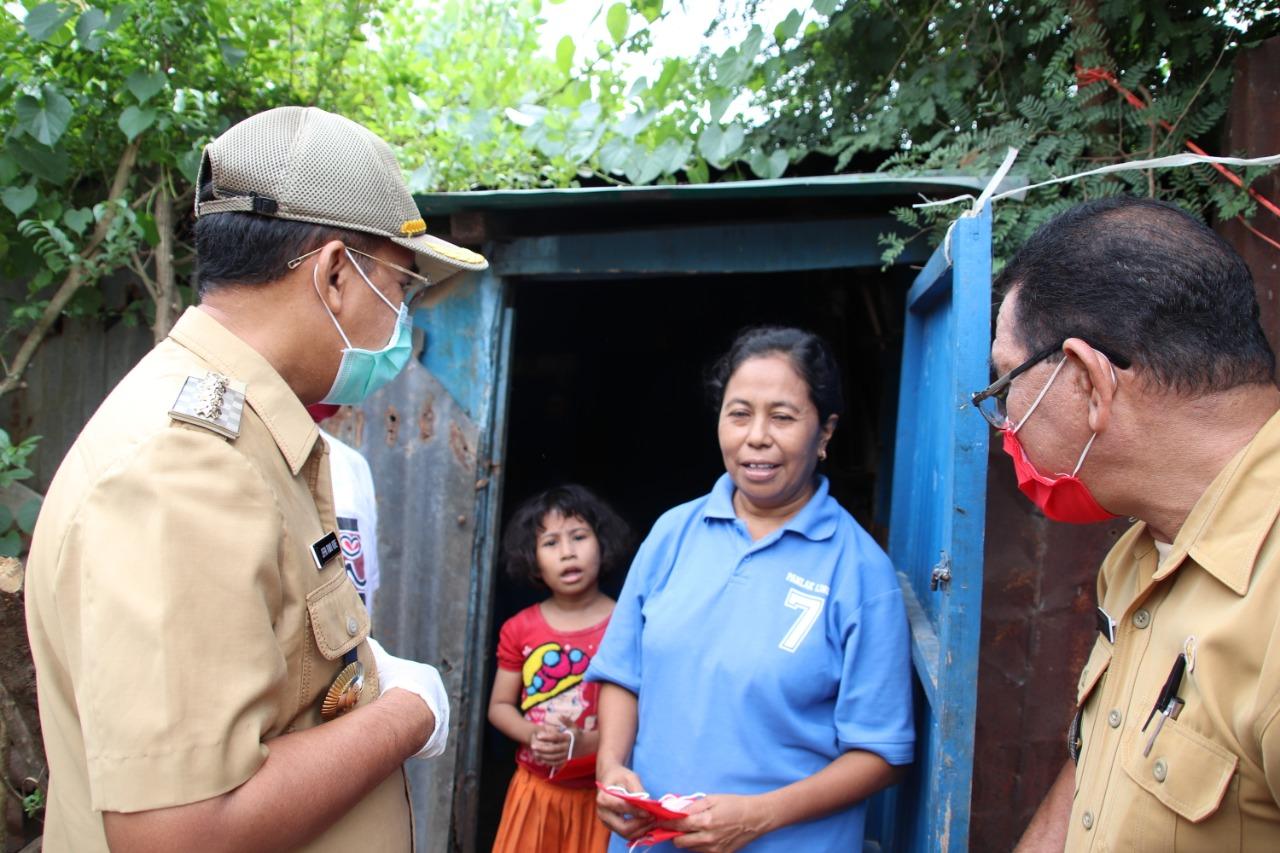 Wali Kota Kupang Segera Bedah Rumah Janda Lansia yang Tak Layak Huni