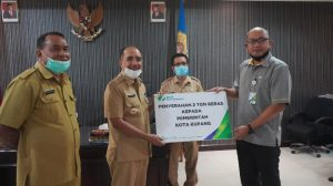 BPJS Ketenagakerjaan Bantu Warga Kota Kupang Terdampak Covid-19