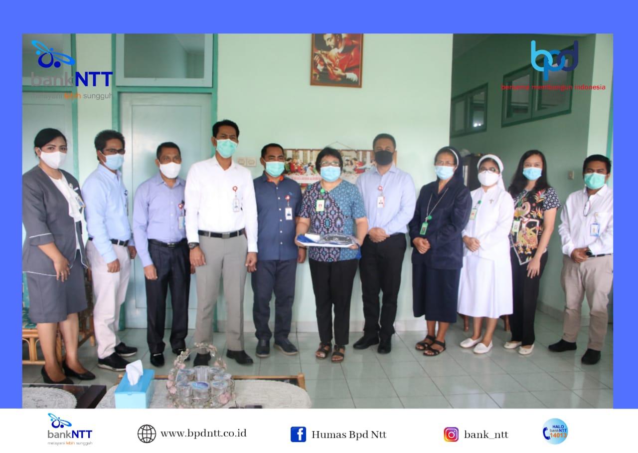 Aksi Sosial Bank NTT Jelang HUT ke-58