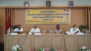 Sembilan Pejabat Ikut Seleksi Terbuka untuk Jabatan Sekda Kota Kupang
