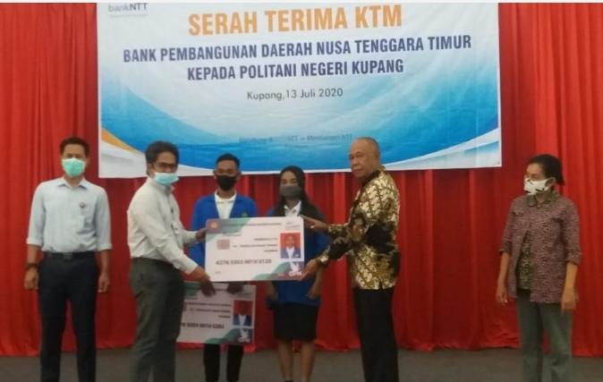 Kerja Sama Bank NTT dan Politani Negeri Kupang Terjalin, Kartu Mahasiswa Berfungsi sebagai ATM