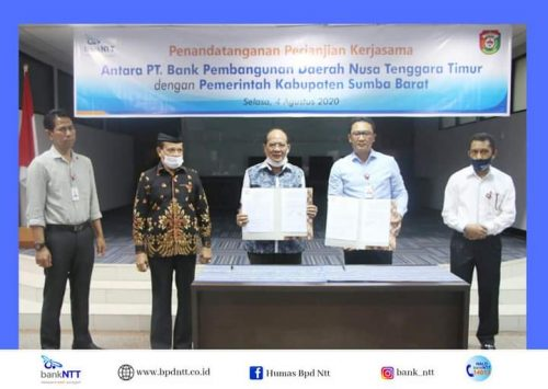 Bank NTT–Pemkab Sumba Barat Jalin Kerja Sama Pemanfaatan Jasa