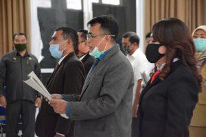 Kardinad Leonard Kale Lena Dilantik jadi Dirut PD Pasar Kota Kupang