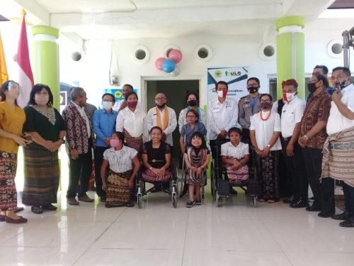 Unit Pelayanan Disabilitas APS Kupang  Diresmikan