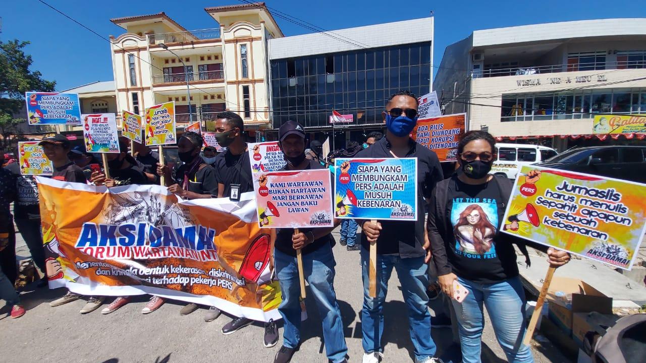 Polisi Didesak Hentikan Penyidikan Terhadap Wartawan di Rote Ndao dan Alor