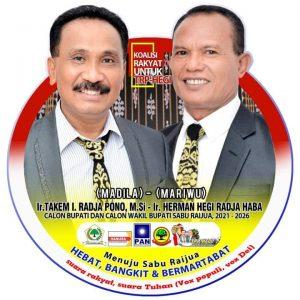 Ribuan Massa Bakal Hadiri Deklarasi Pasangan TRP-Hegi di Teni Hawu