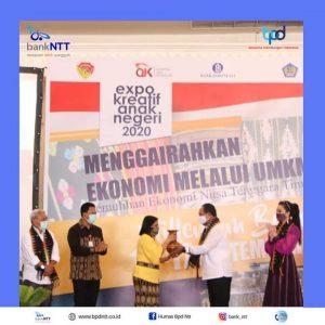 Expo Kreatif Anak Negeri 2020, Gairahkan Ekonomi NTT Lewat Sektor UMKM
