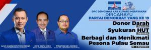 Partai Demokrat Ultah ke-19, DPC Kabupaten Kupang Gelar Aksi Kemanusiaan Selama Tiga Hari