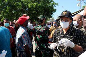 Wali Kota Kupang Pimpin Langsung Operasi Penerapan Protokol Kesehatan