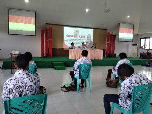 Senator Abraham Paul Liyanto Sosialisasi Empat Pilar Kebangsaan untuk Para Guru