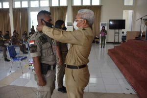 Wawali Ingatkan Satpol PP Kota Kupang untuk Lebih Disiplin