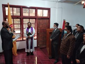 Rektor Undarma Kupang Lantik 30 Pejabat Struktural