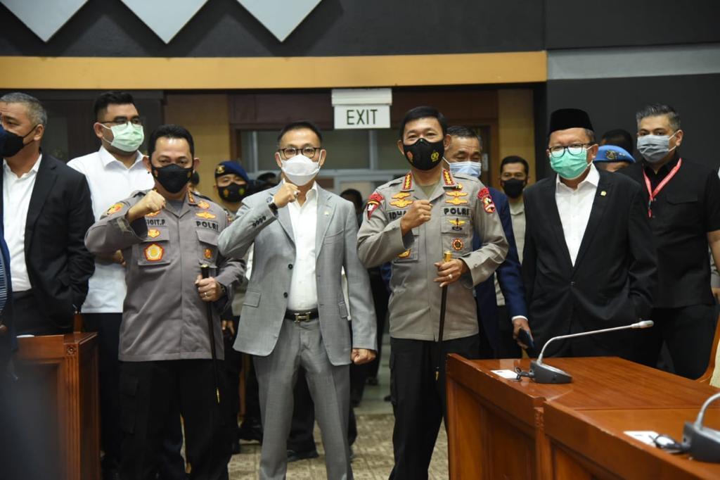 Uji Kelayakan Calon Kapolri Dipimpin Herman Hery, NTT Patut Berbangga