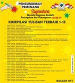 Sopir Angkot di Kupang Juara Adu Gagasan Pencegahan dan Penanganan Covid-19